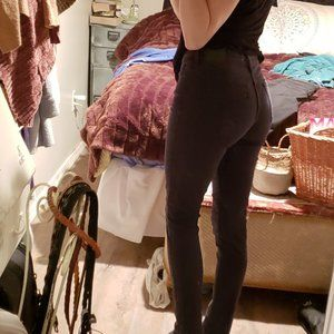 "Levi""s 711 black skinny jeans"